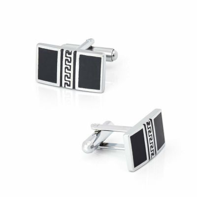 CUFF LINKS SILVER SHIRT WEDDING FAVOURS BOX GROOM BESTMAN CUFFLINKS PROM UK CK08