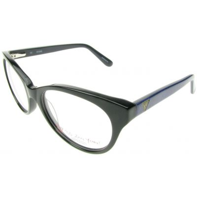 AUTHENTIC GUESS BLACK GLOSS FINISH EYE READING GLASSES SPECTACLES FRAMES NEW