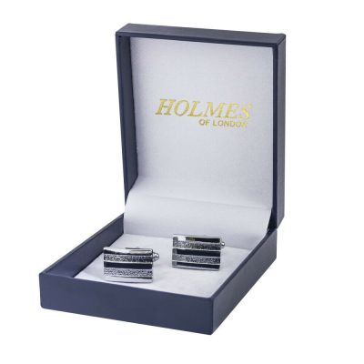 CUFFLINKS SILVER SHIRT WEDDING FAVOURS BOX PARTY BESTMAN PROM CUFF LINKS UK CK02