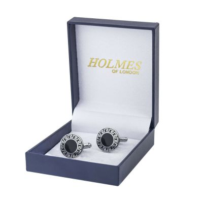 CUFF LINKS SILVER SHIRT GROOM WEDDING FAVOUR BOX PROM BESTMAN CUFFLINKS UK CK10