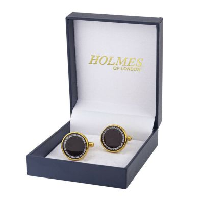 CUFFLINKS GOLD SHIRT WEDDING FAVOURS BOX PARTY BEST MAN CUFF LINKS PROM UK CK13