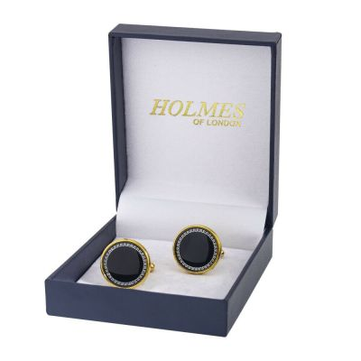 CUFFLINKS GOLD SHIRT WEDDING FAVOURS BOX PARTY PROM CUFF LINKS BESTMAN UK CK15